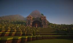 Medieval Dwarven Village - Dragon's Rive Minecraft Project
