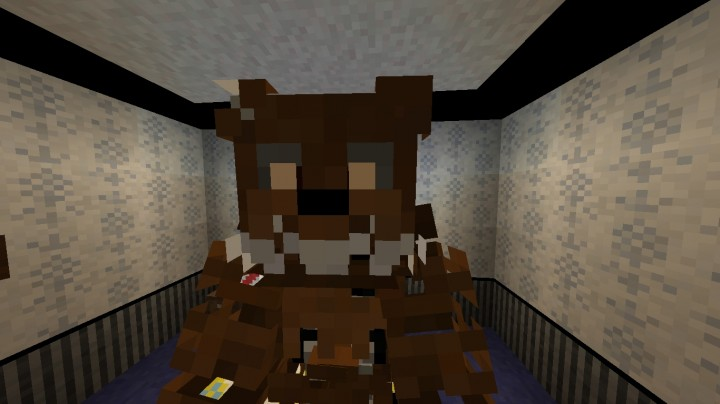 The five nights at freddy s texture pack minecraft texture pack