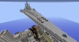 Space Heavy Cruiser ASCA-01 Journey *Semi finished interior Minecraft Map & Project