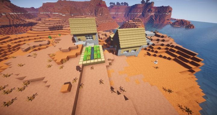 A village in a Mesa