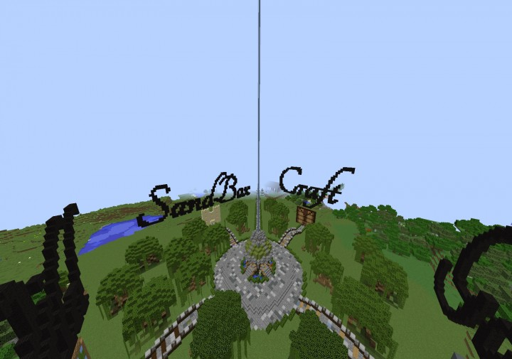 Here is our Hub server where you can enter any of our 4 other servers quickly. You will also spawn here when you first join.