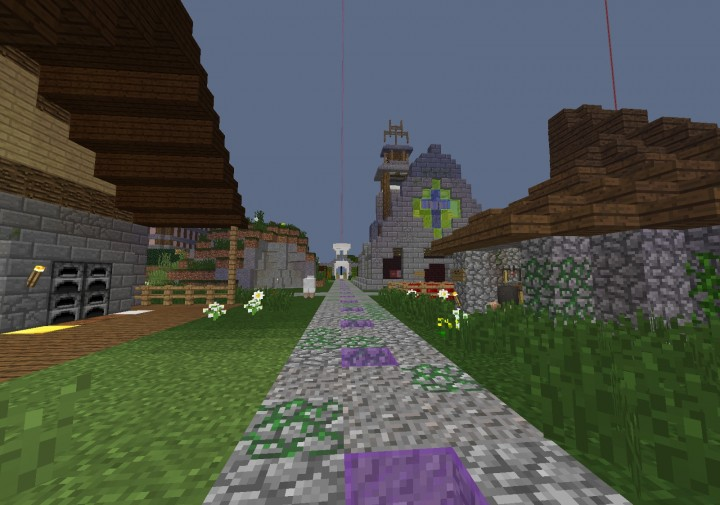 This our enchanting, brewing and repairing area this is accessed by doin warp plaza in craft world.