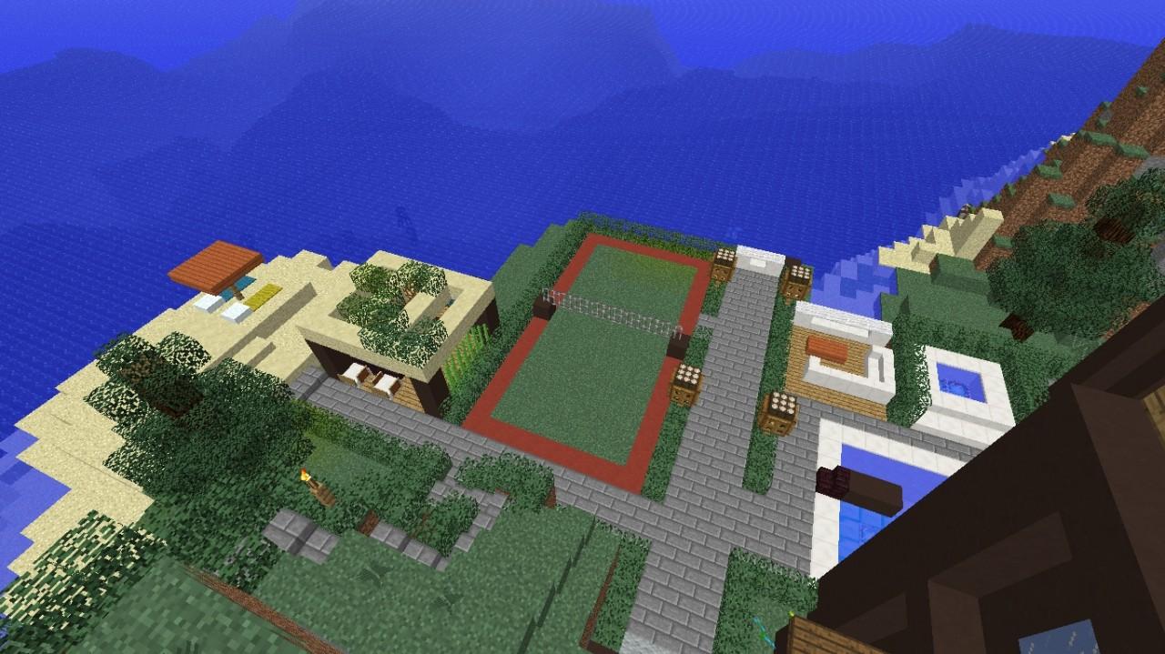 Minecraft modern redstone house 1 7 x minecraft project for Minecraft modernes redstone haus