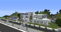 BlueWater Estate Minecraft Map & Project