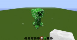 mega creeper Minecraft Map & Project