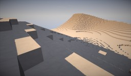 The Scorch Trials Desert Terrain (No Structure) Minecraft