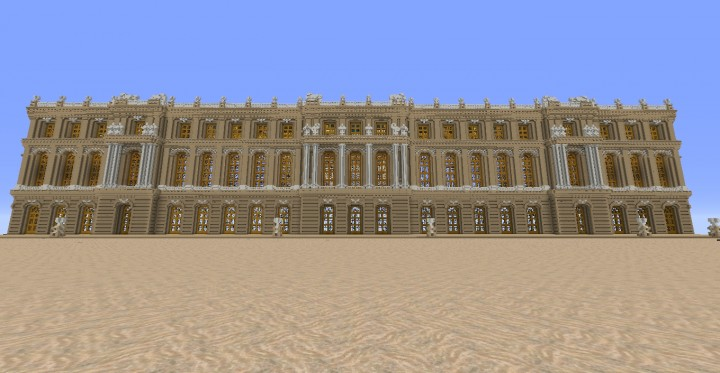 Aliquam Palace Of Versailles Minecraft Project