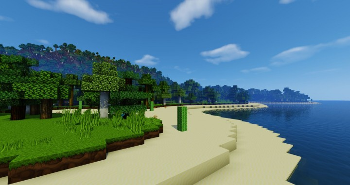 Volcano Island - beach
