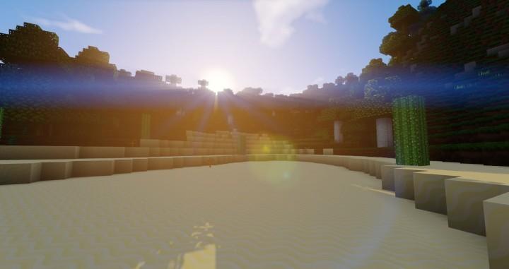 Volcano Island - sunrise