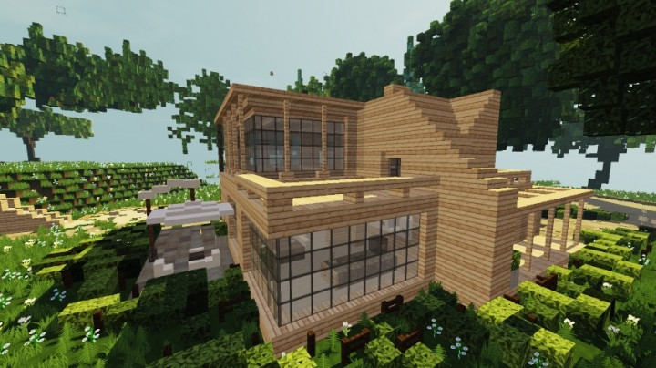 Modern Wooden House World Of Keralis 6 Modern Wooden House World Of