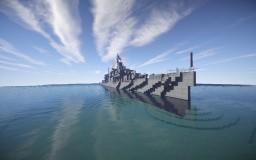 USS Charrette (DD-581) 1:1 - Shipside - By Lucasdeluc Minecraft Map & Project