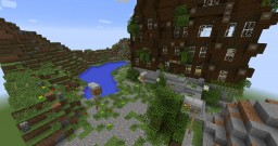 Villa Barde - Inspired by Pr. Layton. Minecraft Map & Project
