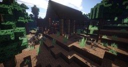 Log House Minecraft Project