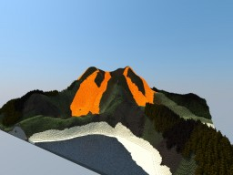 Little Volcano Survival-map 640x640 blocks Minecraft Map & Project