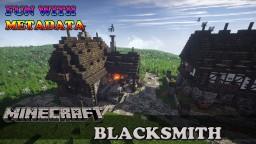 Medieval Blacksmith tutorial Minecraft Map & Project