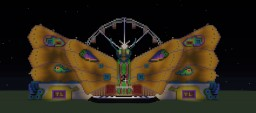 Tomorrowland Butterfly Stage Minecraft Map & Project