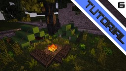 Tent and Campfire [TUTORIAL] Minecraft Blog