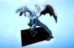 【Yu-Gi-Oh!!】Blue-eyes white dragon Minecraft