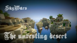 [Free Download] Skywars map: The Unresting Desert Minecraft Map & Project
