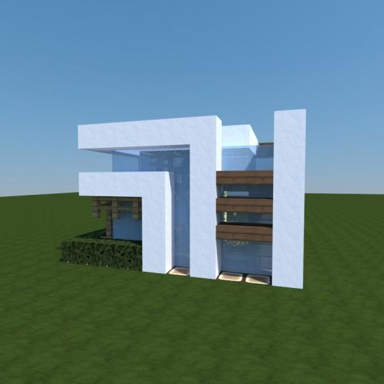 Enderh3art's Small Modern House Minecraft Project