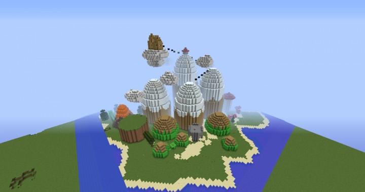 Leaves To Bedrock Minecraft Project