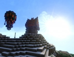 Flying in Breeze Minecraft Map & Project
