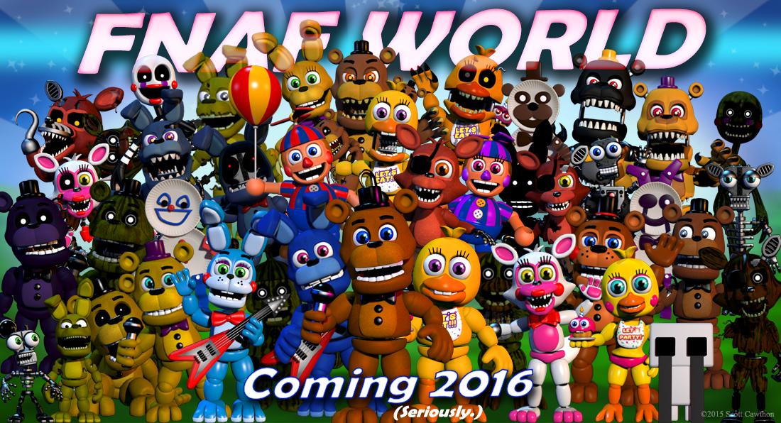 Fnaf World Coming 2016 Minecraft Blog