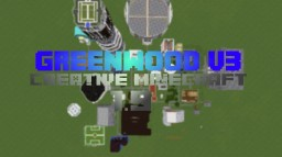 Greenwood v3.0 (Creative Town w/ Reichstag!) Minecraft Map & Project