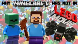 Why Minecraft was not in The Lego Movie Minecraft