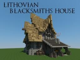 Lithovian Blacksmiths House Minecraft