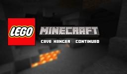 LEGO® Minecraft Cave Hanger - Continued Minecraft Blog