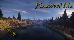 Pinewood Isle [DOWNLOAD] 3000x3000 Custom Terrain Minecraft