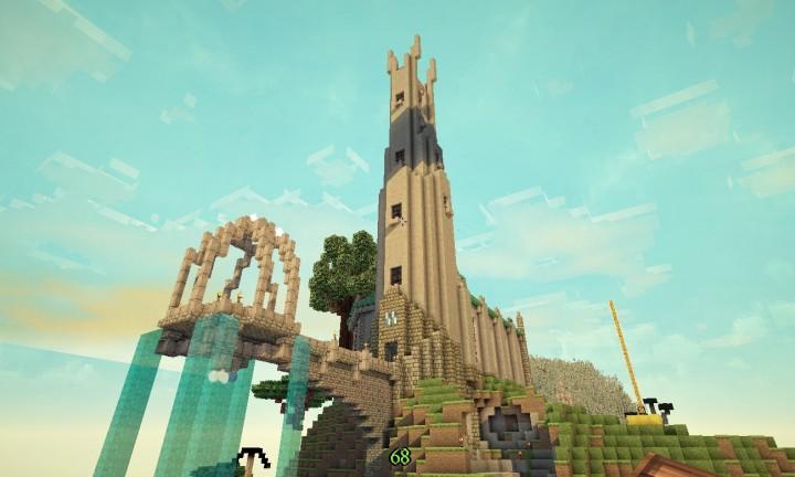 Bergtempel Minecraft Project