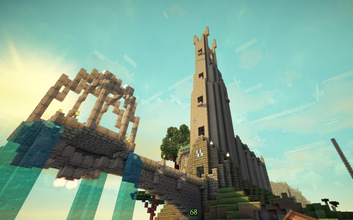 Bergtempel Minecraft Project