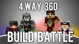 4 way, 360° Degree, Minecraft Build Battle [With Download]