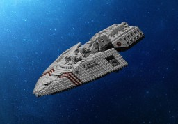 TTC: Warden Class Heavy Frigate Minecraft Project