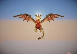 Awesome Dragon! Minecraft