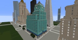 Eastern Columbia Building Minecraft Map & Project