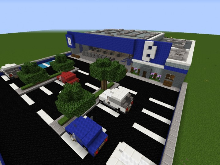 how to build a gym in minecraft