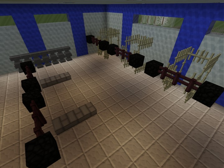 Bodybuilding Gym Minecraft Project