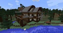 [15w39c] Cabin Home Minecraft Map & Project