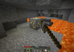 assuming he's mining gold with a stone pick Minecraft Blog Post