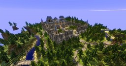 Factions Spawn + WarZone - Elluin Minecraft Map & Project