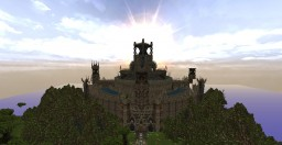 Gothic-ish Building Minecraft Map & Project