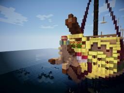 HMS Loyal Gold Minecraft Map & Project