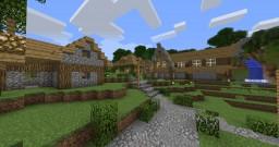 Saving Peaceville -Adventure map! Minecraft