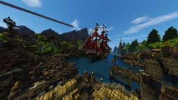 407x407 AC:Black flag themed project! Minecraft Map & Project