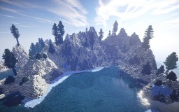 Frozen Island Minecraft Map & Project
