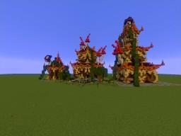 Mugen: Little Fantasie Asian Minecraft Map & Project
