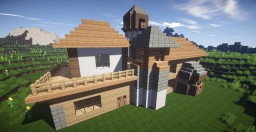 Big Beautiful House Minecraft Map & Project